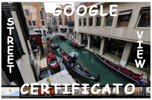 Google Street view Certificato