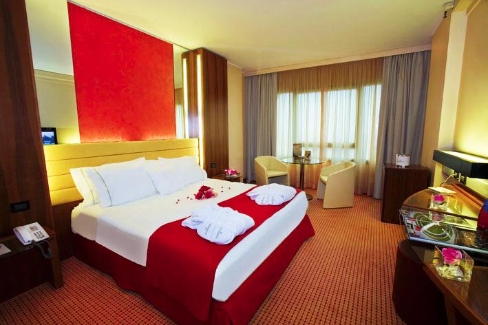 Fotografo hotel, Camera Hotel Sheraton lavorata