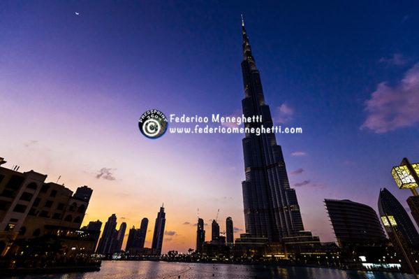 Burj Kalifa grattacielo più alto al mondo Dubai
