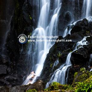 Foto cascata 30x40 Azzorre